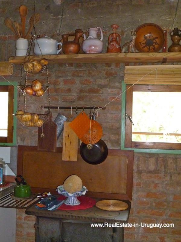 Kitchen of Farm House in the Pueblo Eden Area