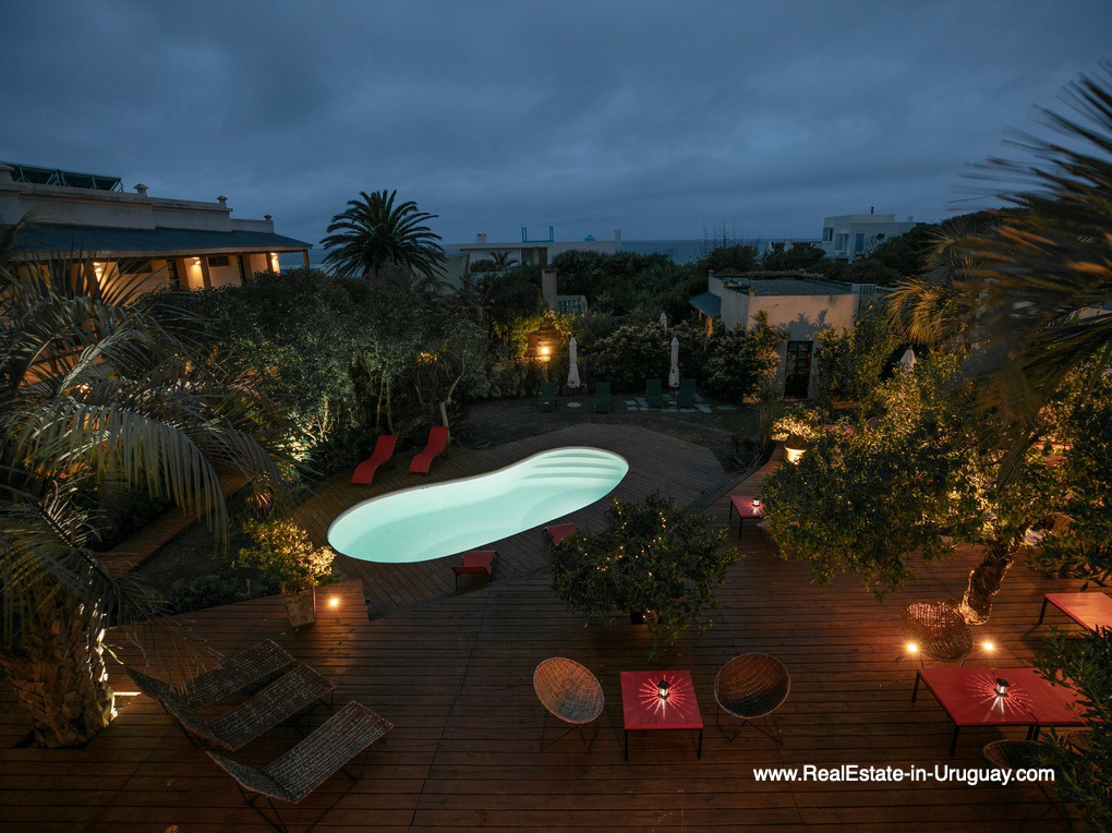 Pool of Boutique Hotel in La Pedrera