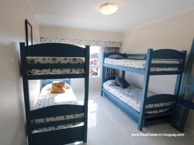 Bedroom of Apartment on the Mansa Beach in Punta del Este