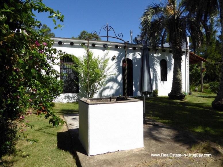 Historic Renovated Garden of Farm House by Pueblo Eden