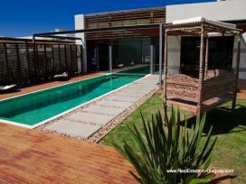 Pool of Modern High-Tech Home in Laguna Blanca by Manantiales