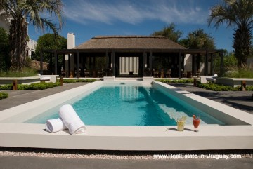 Pool of Large Home in the middle of Jose Ignacio Town