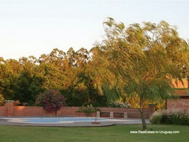 Garden of Large Estate near Jose Ignacio with 70 Hectares Land