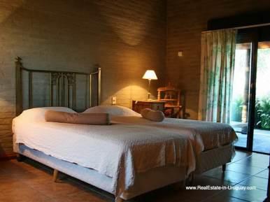 Master Bedroom of Large Estate near Jose Ignacio with 70 Hectares Land