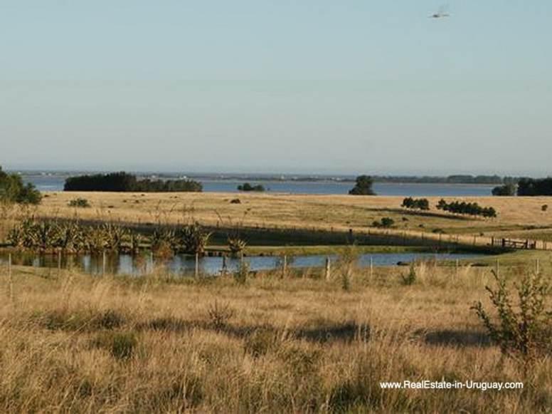 Lagoon of Large Estate near Jose Ignacio with 70 Hectares Land
