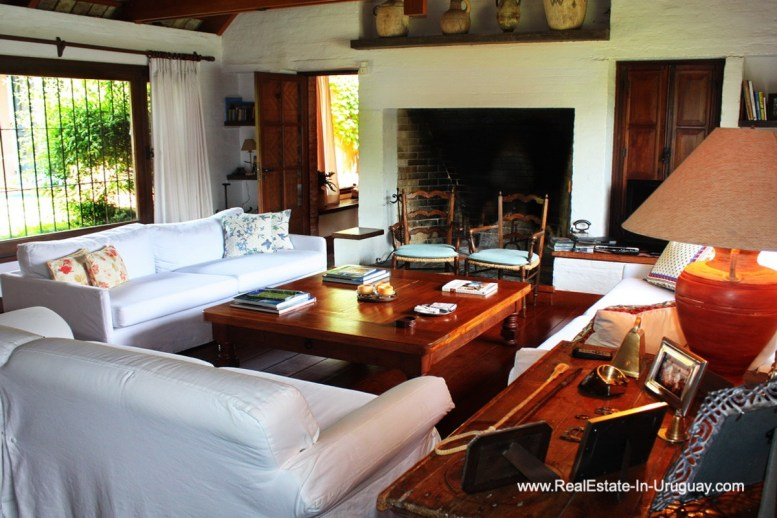 Living Room of Home on the Golf Course in Punta del Este