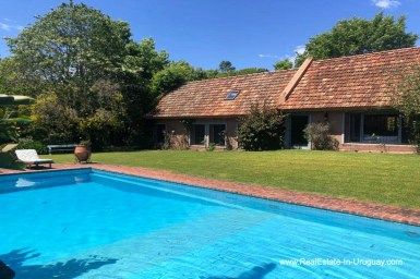Pool of Home on the Golf Course in Punta del Este