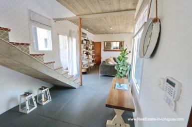 Hallway of Modern Home in the Montoya Area by La Barra