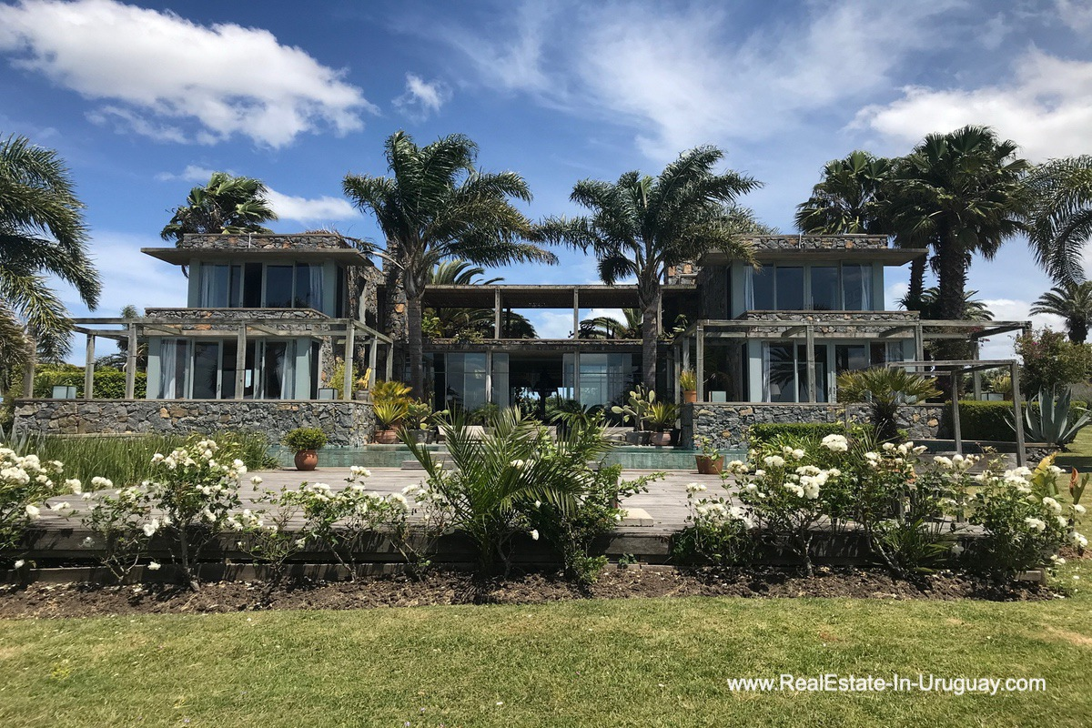 Outside of Incredible Large Estate behind La Barra and near the Golf Course
