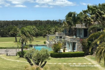 Main House of Incredible Large Estate behind La Barra and near the Golf Course