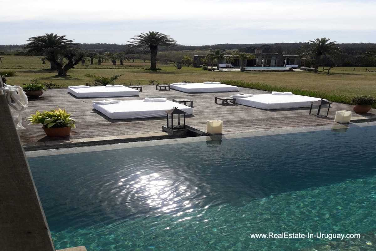 Pool of Incredible Large Estate behind La Barra and near the Golf Course