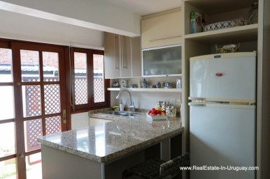 Kitchen of Well Maintained Quincho Home in the San Rafael Area