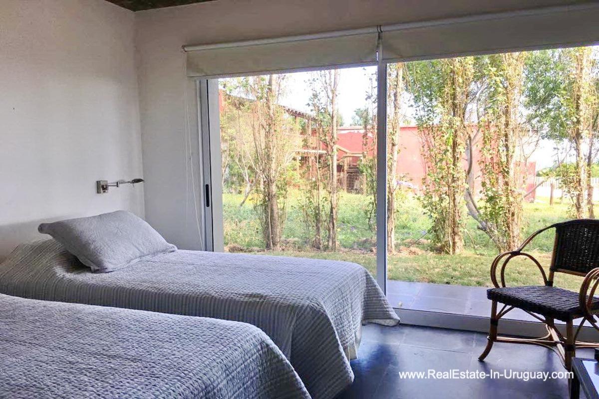 Bedroom of Home in El Chorro by Manantiales