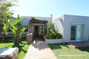 Front of Excellent Home in Pueblo Mio by the Golf Course La Barra