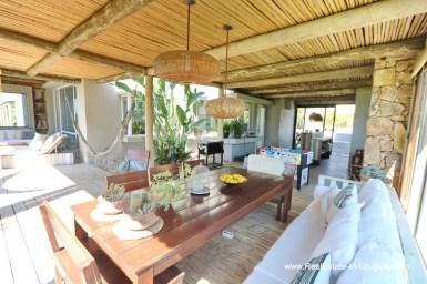 Terrace Excellent Home in Pueblo Mio by the Golf Course La Barra