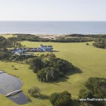 Aerial of Spectacular Beachfront Property near Jose Ignacio