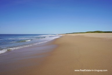 Beach of Spectacular Beachfront Property near Jose Ignacio