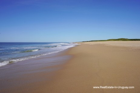 Beach of Spectacular Beachfront Property near Jose Ignacio