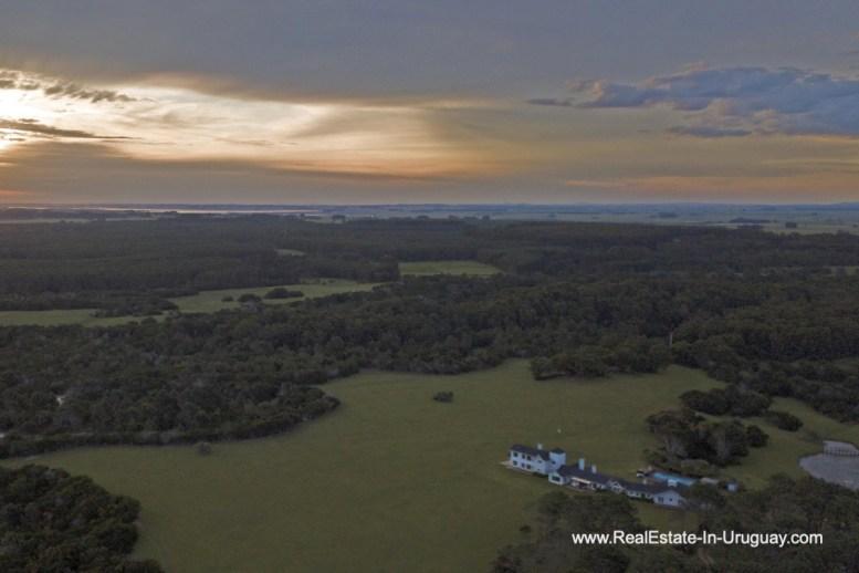 Sunset Spectacular Beachfront Property near Jose Ignacio