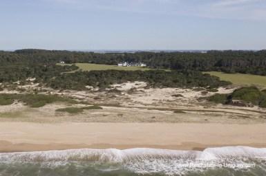 From shore to Spectacular Beachfront Property near Jose Ignacio