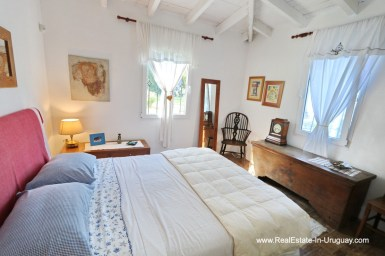 Guest Bedroom of Cozy House in Rincon del Indio by Punta del Este