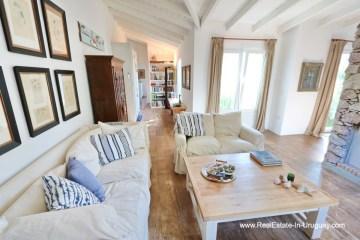 Living Room of Cozy House in Rincon del Indio by Punta del Este