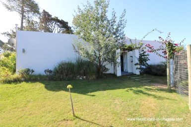 Outside Cozy House in Rincon del Indio by Punta del Este