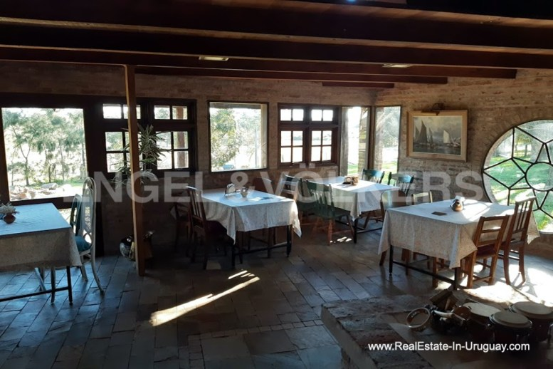 Dining Area of Farm with Organic Garden near Wineries in Canelones