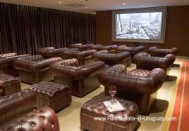 Cinema of YOO Apartment on a High Floor with Ocean Views in Punta del Este