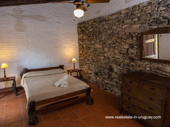 Bedroom 2 of Large Touristic Ranch in the Countryside of Uruguay