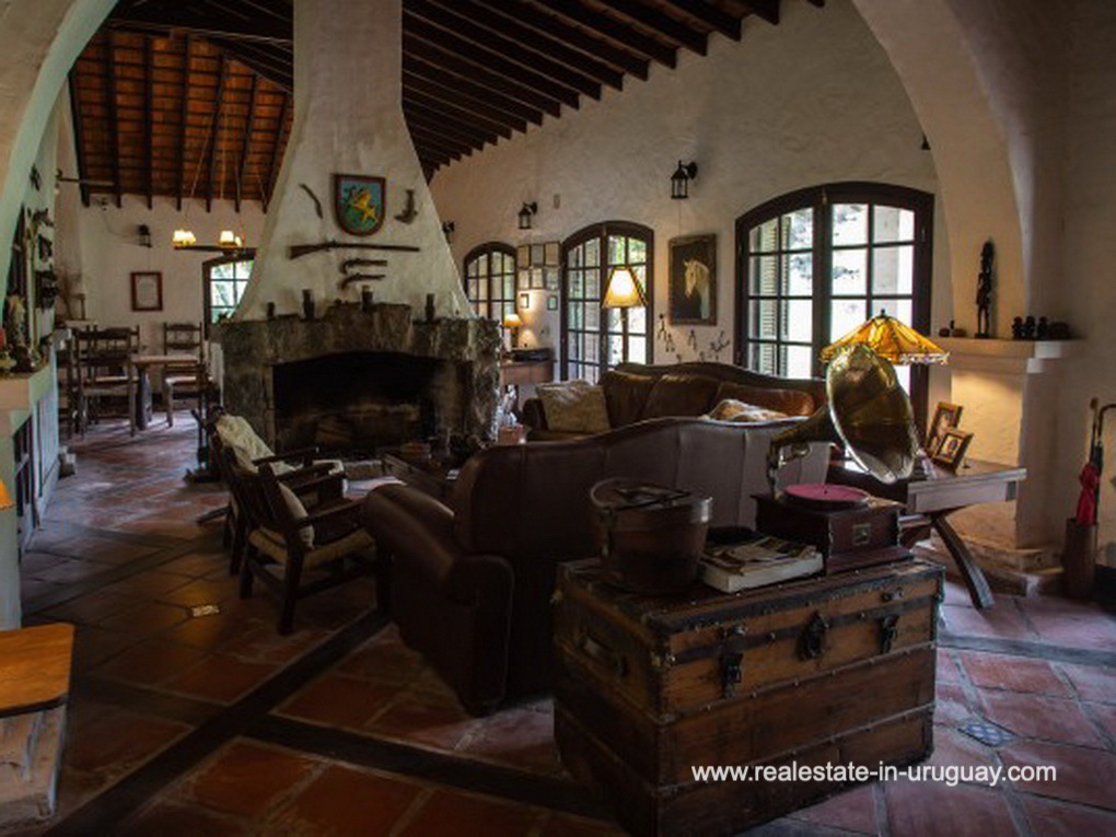 Living of Large Touristic Ranch in the Countryside of Uruguay