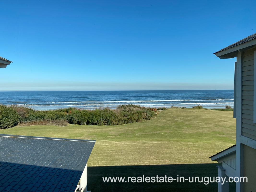 Ocean View of Large Oceanfront Villa in Punta Ballena