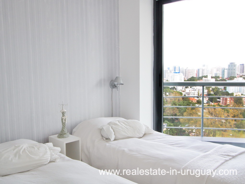 Bedroom of Penthouse in Central Location in Punta del Este