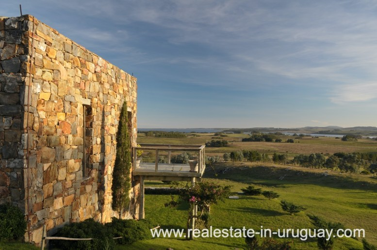 Spectacular Farm situated on a Hill by Laguna del Sauce