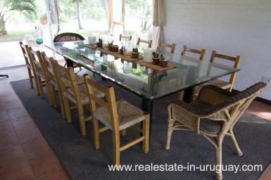 6497 Countryside Property between Jose Ignacio and Garzon - Dining Room