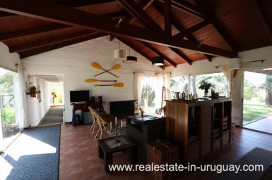 Living Area of Countryside Property between Jose Ignacio and Garzon