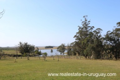 View to Lake of Countryside Property between Jose Ignacio and Garzon