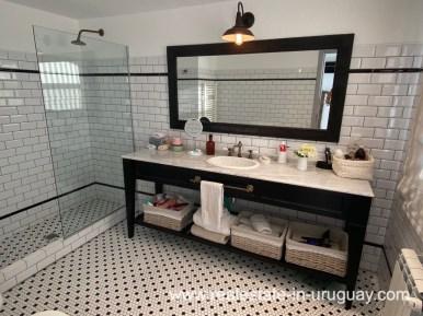 Bathroom of Spectacular Remodeled House in Punta Ballena