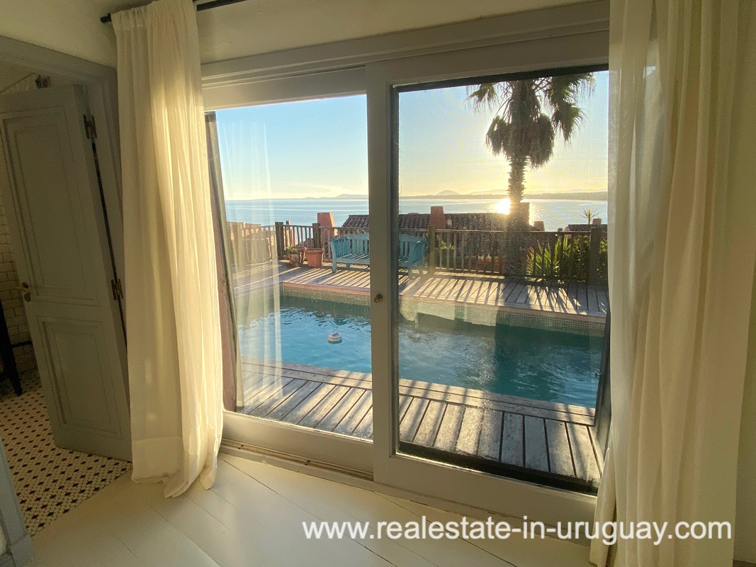 Pool of Spectacular Remodeled House in Punta Ballena