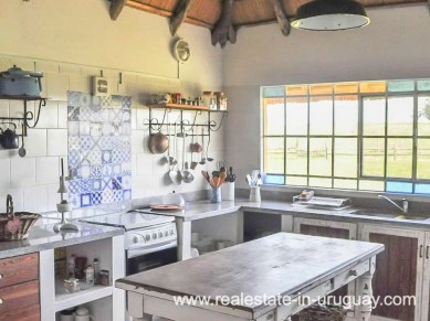 Kitchen of Farm with 95 Hectares just 15 Minutes from Jose Ignacio