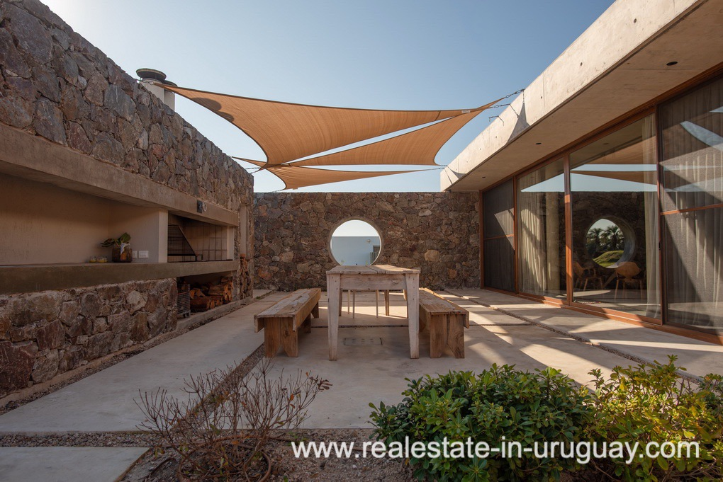 BBQ of Modern and Style combined with Country Views in Pueblo Mio by Manantiales
