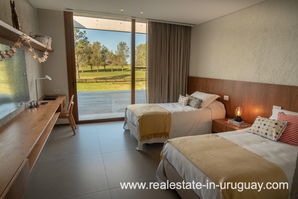 Bedroom 4 of Modern and Style combined with Country Views in Pueblo Mio by Manantiales