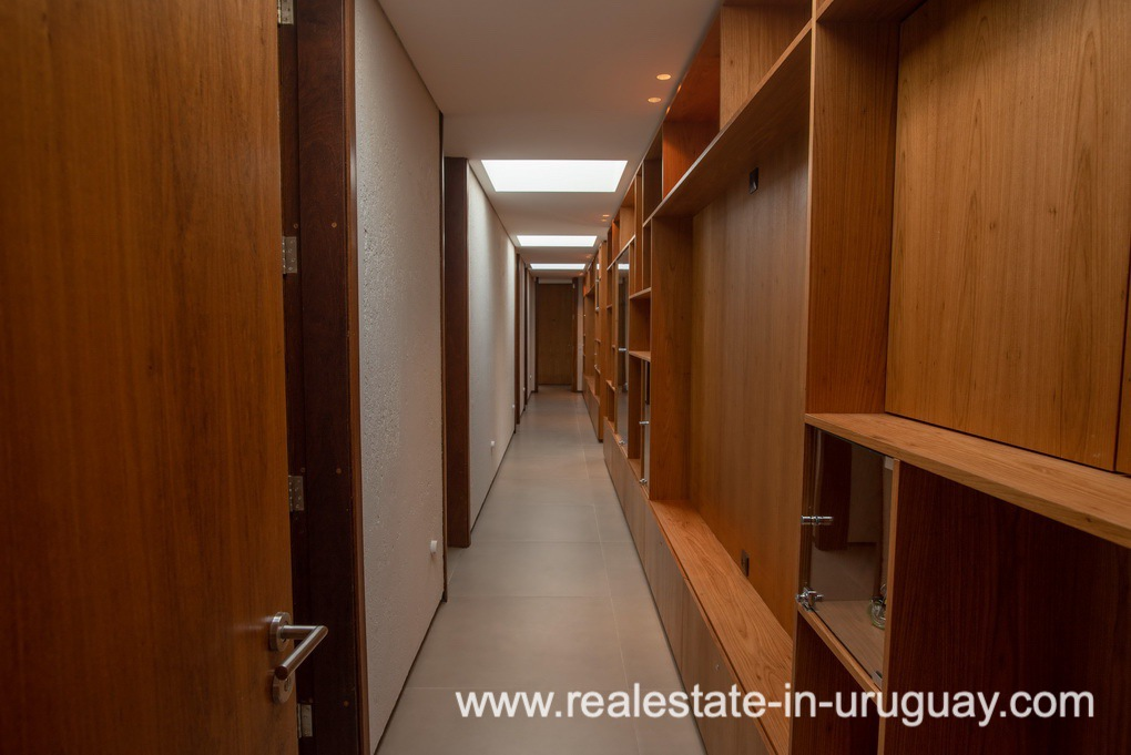 Hallway of Modern and Style combined with Country Views in Pueblo Mio by Manantiales
