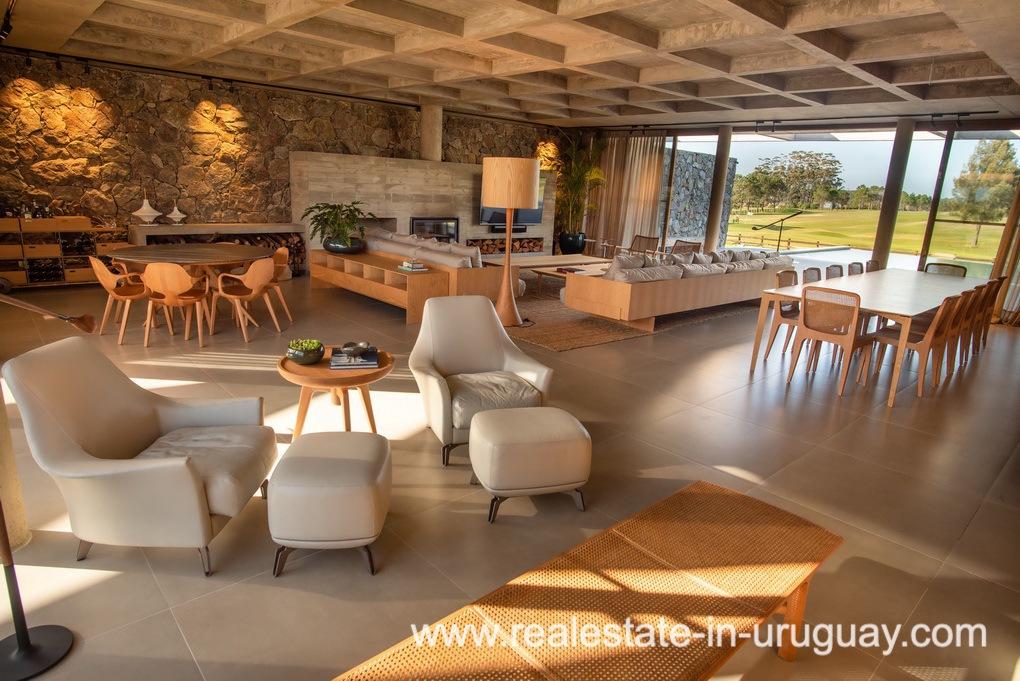 Living of Modern and Style combined with Country Views in Pueblo Mio by Manantiales
