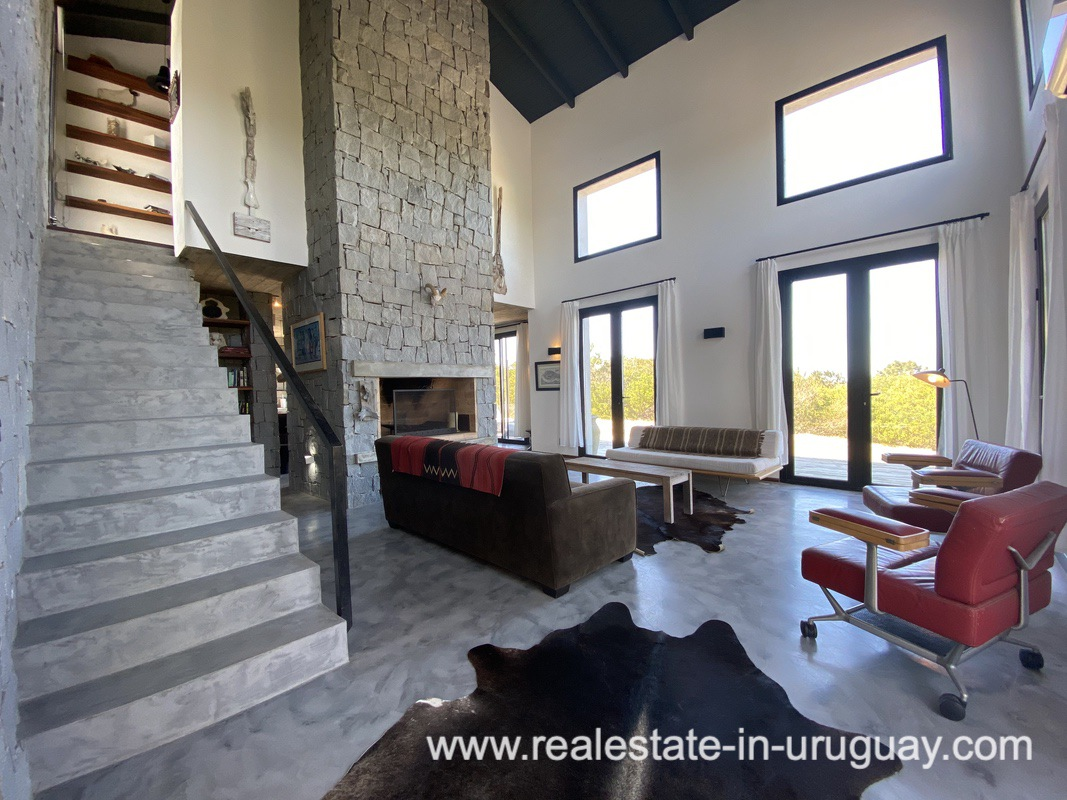 Living room of Design Home in San Antonio near La Pedrera on the Beach