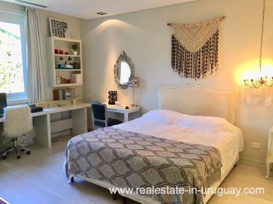 Guest Bedroom of Home on the Mansa in Punta del Este