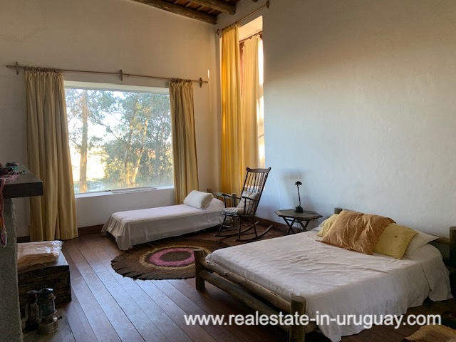 Bedroom of Finca off Camino Medellin near Santa Monica and Jose Ignacio