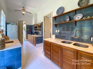 Kitchen of Villa in EL Golf Punta del Este