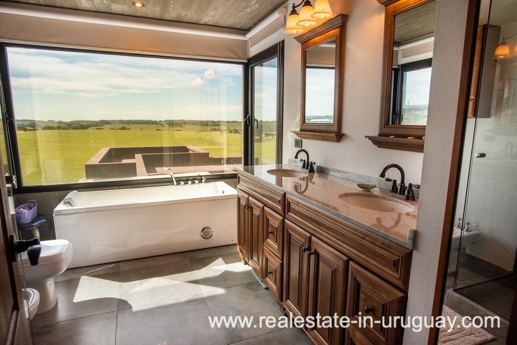 Master Bathroom of Pueblo Mio by La Barra Golf
