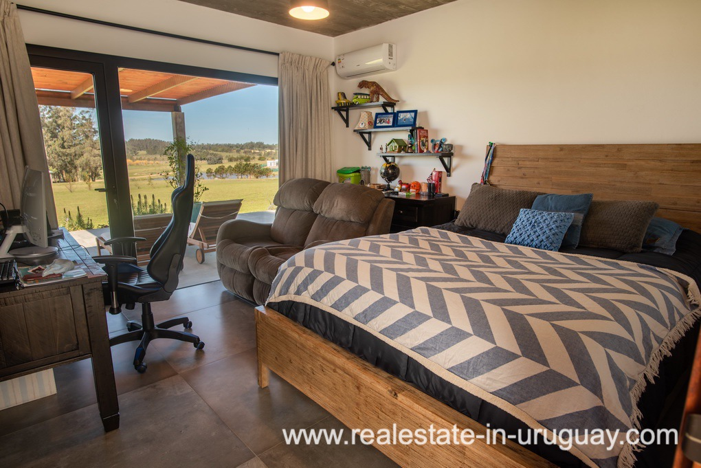 Master Bedroom of Pueblo Mio by La Barra Golf